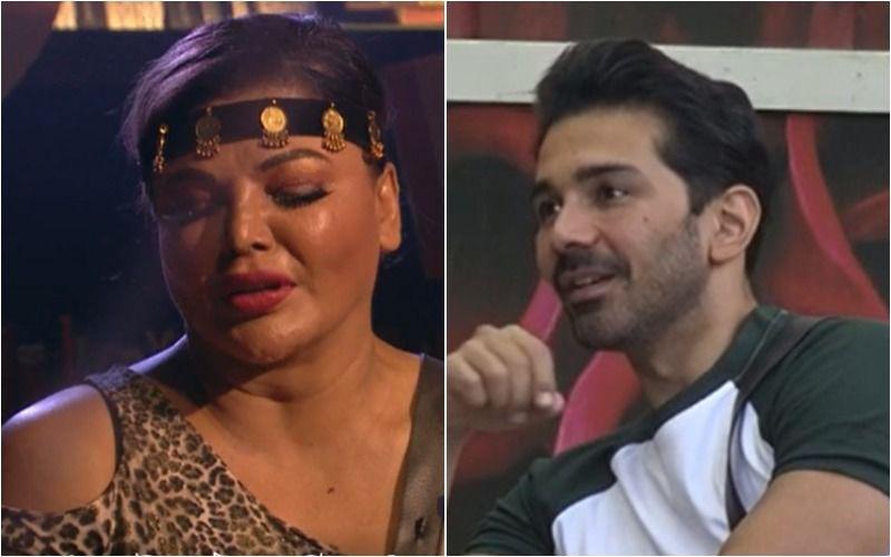Bigg Boss 14: Rakhi Sawant Saves Abhinav Shukla From Nominations Despite Their Fallout; Cries And Says 'Maine Forgive Kia, Mujhe Revenge Nahi Lena Hai'