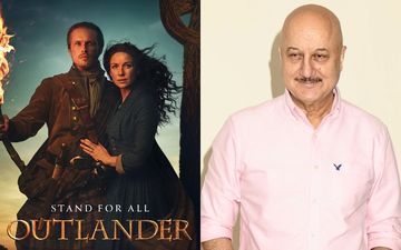 Anupam Kher Thanks Outlander Stars Sam Heughan- Caitriona Balfe For Their Caring Message For Kirron Kher As She Battles Cancer