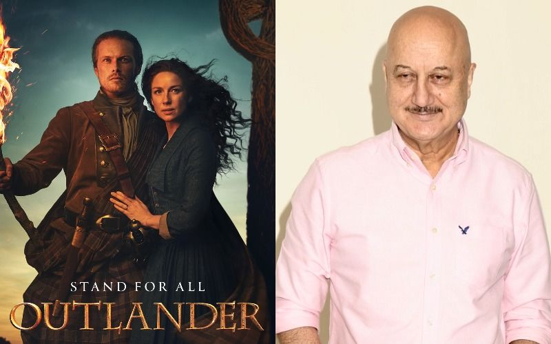 Anupam Kher Thanks Outlander Stars Sam Heughan- Caitriona Balfe For Their Caring Message For Kirron Kher As She Battles Cancer