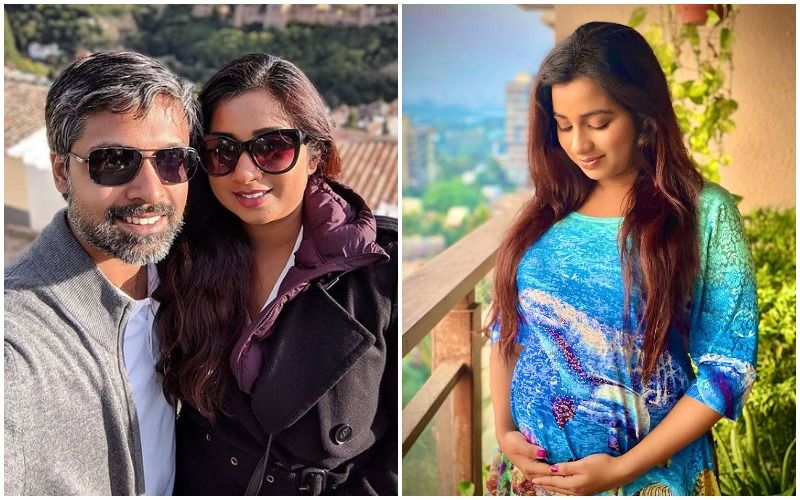 Shreya Ghoshal Announces Her Pregnancy; Singer Shares Adorable Picture Cradling Her Baby Bump: 'Baby Shreayaditya Is On Its Way'