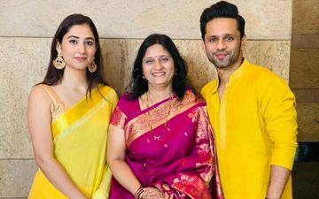 Bigg Boss 14's Rahul Vaidya To Celebrate First Gudi Padwa With GF Disha Parmar; Singer's Mom Gifts Her A Maharashtrian Nauvari