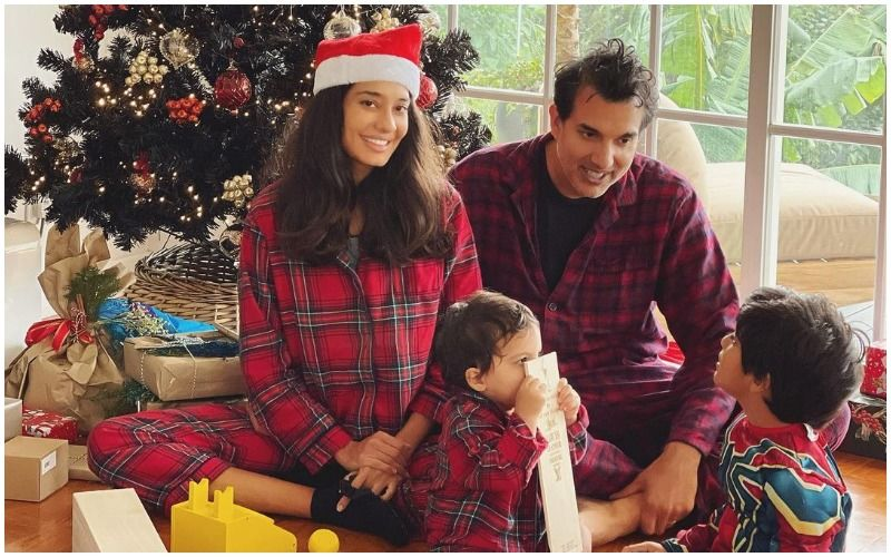Preggers Lisa Haydon Says She And Husband Dino Wanted To Have Four Kids: 'It'll Be A Firm Stop  At Three, Unless There's An Act Of God'
