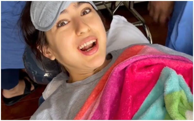 Sara Ali Khan Shares A 'Namaste Darshako' Video From An Operation Table As She Gets Her Wisdom Teeth Extracted; Hilariously Explains The Process- WATCH