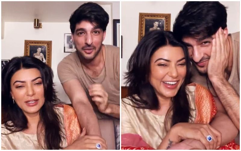 Sushmita Sen And Rohman Shawl Put An End To Breakup Rumours As Latter Joins The Actress In Her Insta Live Session; Their Banter Is Adorable- WATCH