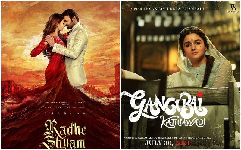 Gangubai Kathiawadi- Radhe Shyam Box-Office Clash: Alia Bhatt Starrer To Battle It Out With Prabhas- Pooja Hegde's Romantic Drama