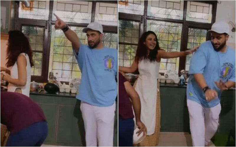 Bigg Boss 14's Jasmin Bhasin Preps For Iftaar Feast Along With Aly Goni And His Family; Playfully Shoves Him As He Gives Out Orders To Her- VIDEO