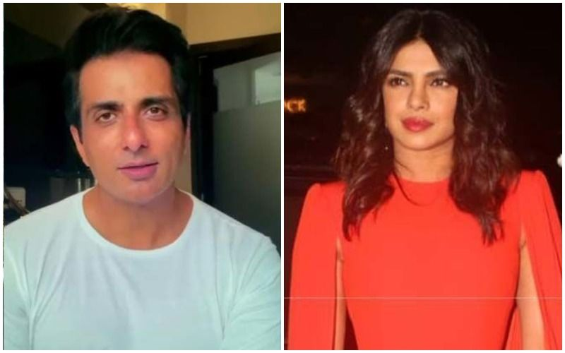 Priyanka Chopra Supports Sonu Sood's Appeal For Free Education To Children Who Lost Parents To COVID-19; Smriti Irani Replies With Child Helpline Number