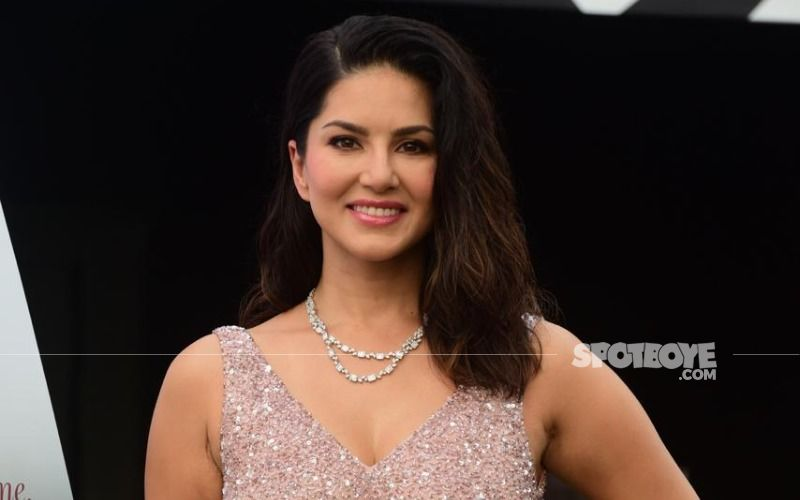 Sunny Leone Jumps With Joy On Her Hotel Bed Wearing A Bathrobe As She Reveals 'It's My First Night Alone In 5 Months'- VIDEO