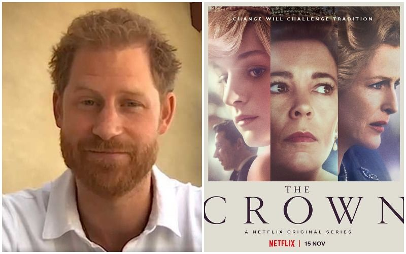 Prince Harry Says He Is 'More Comfortable' Watching Netflix's The Crown Than Read 'News' About His Family In The Tabloids