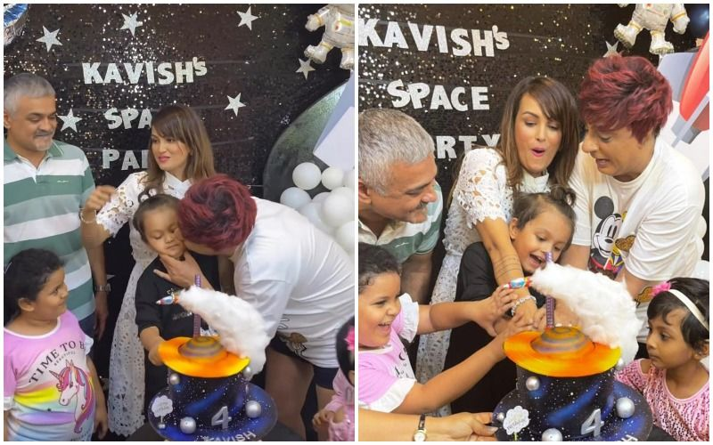 Nisha Rawal Throws A Birthday Bash For Son Kavish Amid Legal Battle With Her Estranged Husband Karan Mehra- PICS