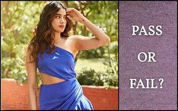 Janhvi Kapoor's Flirty Look In Blue: How Much Is It On A Scale Of 1 To 10?