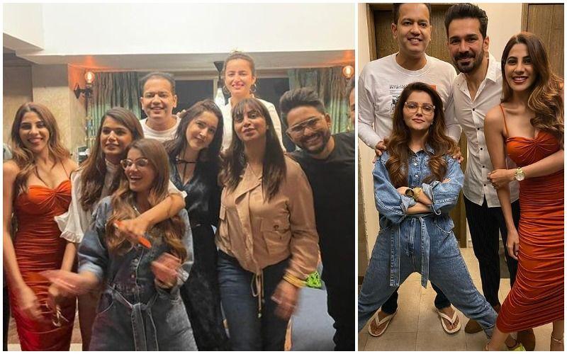 Bigg Boss 14: Rubina Dilaik, Abhinav Shukla, Nikki Tamboli, Arshi Khan Have A Blast At Rahul Mahajan- Natalya Mahajan's House Party- INSIDE PICS