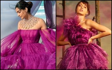 Sonam Kapoor Vs Nora Fatehi: Whose Lavender Ruffled Gown Impressed More?