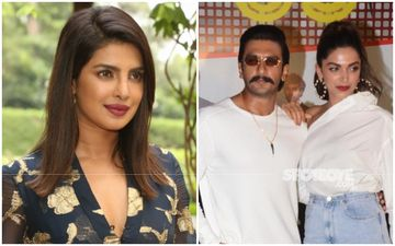 Priyanka Chopra Jonas Wants To Go On Double Date With Ranveer Singh-Deepika Padukone; Asks Him If He Steals Clothes From Deepika Padukone's Wardrobe
