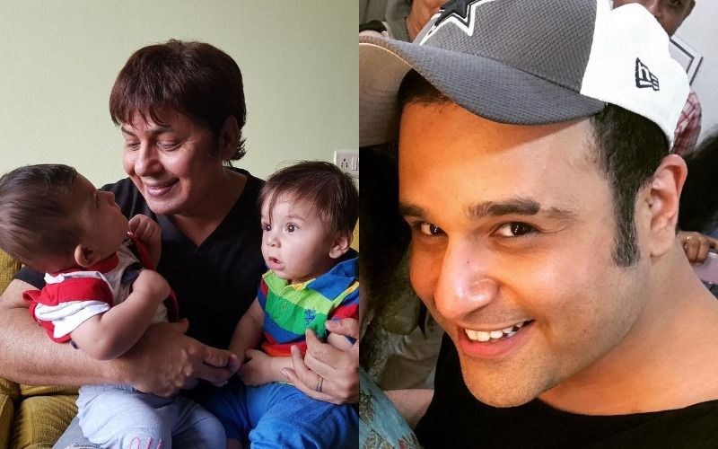 Sudesh Lehri Posts A Snap With Krushna Abhishek's Twins, Takes A Dig At Their Alleged Fallout And Says 'Kids, Don't Grow Up To Be Like Your Dad'