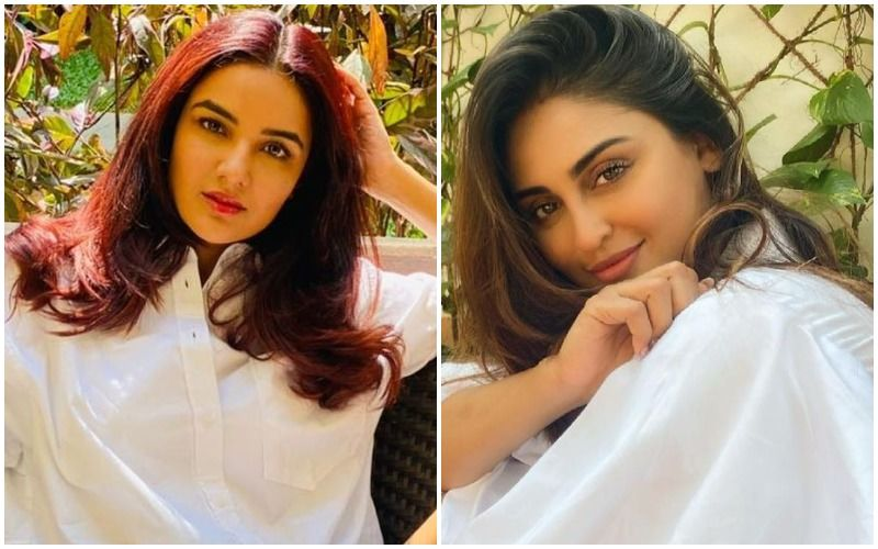 Bigg Boss 13's Jasmin Bhasin And Krystle D'Souza Stun In Similar Outfits; Who Wore The White Floral Wrap Dress Better?