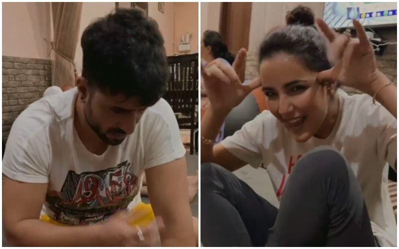 Bigg Boss 14's Jasmin Bhasin Enjoys A Game Of Ludo With BF Aly Goni And His Family; Ilham Goni Gives A Sneak-Peek Of 'Quarantine Life'- VIDEO