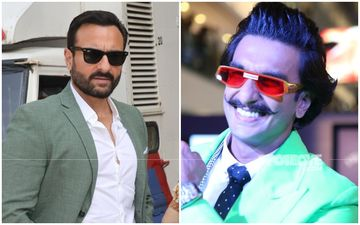 Ranveer Singh And Saif Ali Khan Spotted Chilling Together On Sets In Mumbai; Actors Enjoy Conversation Over A Cup Of Coffee