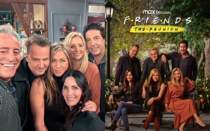 FRIENDS The Reunion Trailer: Jennifer Aniston, Courteney Cox, Lisa Kudrow, Matt LeBlanc, Matthew Perry And David Schwimmer Enact Iconic Scenes; Age-Old Question Finally Answered: 'Were Ross And Rachel On A Break?'