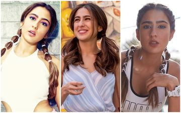 Sara Ali Khan Takes Us Back To School With These Adorable Two-Plait Looks!