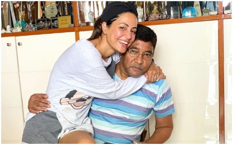 Hina Khan Posts Throwback Video Of Her Singing 'Aane Wala Pal' With Her Late Father; Says 'It's Been Exactly One Month, Dad'- WATCH