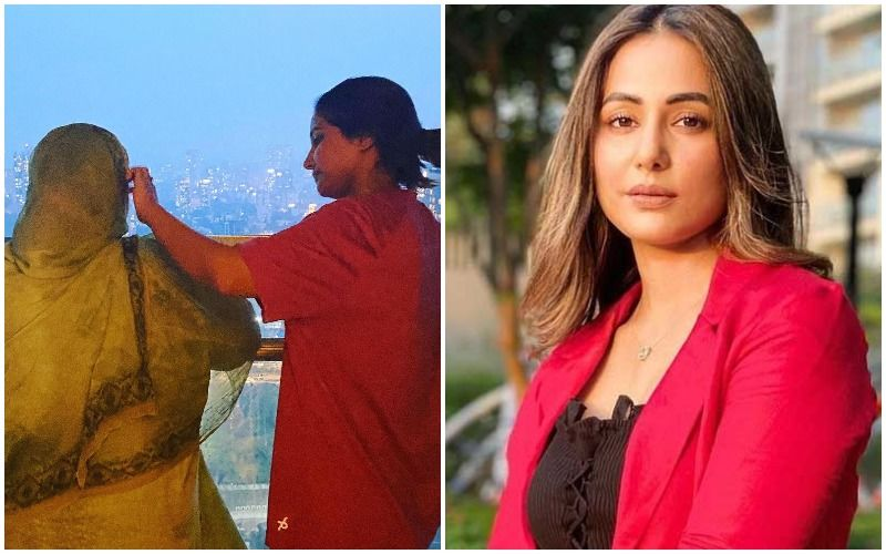 Hina Khan Pens An Emotional Message For Her Mother After Her Father's Death: 'I Promise I'll Wipe Your Tears'