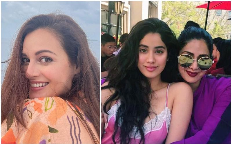 Janhvi Kapoor Flaunts Her Painting Skills; Dia Mirza Is Reminded Of Sridevi: 'Like Mother, Like Daughter'