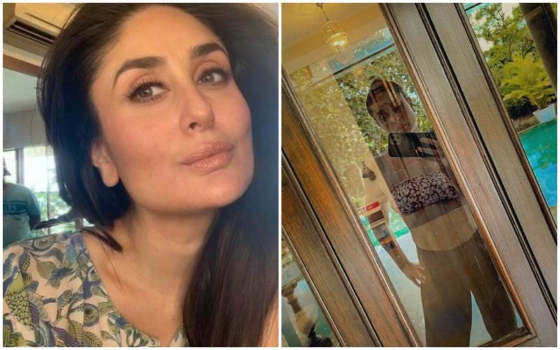 Kareena Kapoor Drops The Pregnancy Flab And A Gorgeous Selfie By The Pool Side View; Advises 'Maintain Distance, Cuz It's The New Normal'