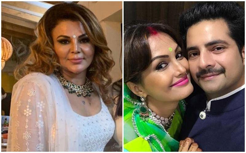 Rakhi Sawant REACTS To Karan Mehra- Nisha Rawal Domestic Violence Row; Says 'Mera Shaadi Se Bharosa Uth Gaya Hai'- VIDEO