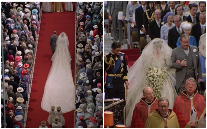 Princess Diana's Iconic Wedding Dress With 25 Foot Train Goes On Display At Kensington Palace, 40 Years After She Married Prince Charles