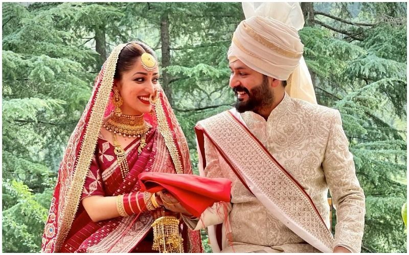 INSIDE Pictures From Yami Gautam And Aditya Dhar's Beautiful Intimate Ceremony; They Make A Wonderful Couple