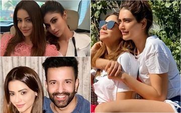 Aamna Sharif's Birthday: Aamir Ali, Mouni Roy, Hina Khan, Arjun Bijlani, Karishma Tanna Shower Love On Kasautii Zindagii Kay's Komolika