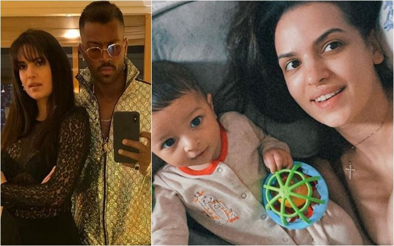 Hardik Pandya-Natasa Stankovic Take Agastya To The Pool For The First Time; Cricketer Says 'My Boy's Clearly A Water Baby'- PICS