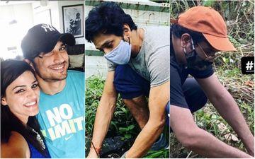 Sushant Singh Rajput's Friend Mahesh Shetty Plants A Neem Sapling In Memory Of Late Friend; Mukesh Chhabra Joins #Plants4SSR Campaign