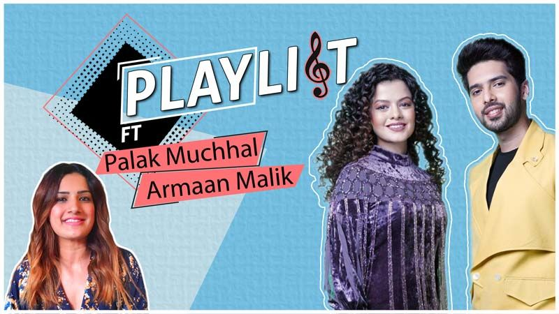 Armaan Malik And Palak Muchhal Battle It Out On Playlist To Prove Their Camaraderie- EXCLUSIVE VIDEO
