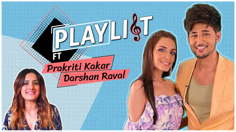 Darshan Raval And Prakriti Kakar Stuck In The 90s Musical Quiz! Find Out Who Won, Who Lost?- EXCLUSIVE VIDEO