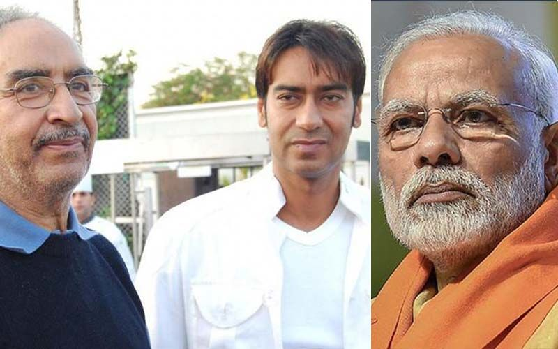 PM Modi Pens A Heartwarming Note On Demise Of Veeru Devgan; Ajay Devgn Is Deeply Touched
