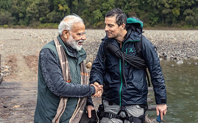 Man vs Wild With Bear Grylls and PM Narendra Modi: Highlights From The Show; Celebs Are All Praise For PM Modi's Adventurous Expedition On Discovery