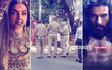 POLICE PROTECTION Provided To Deepika-Ranveer-Shahid's Padmavati Maker Bhansali, SITUATION EXTREMELY TENSE