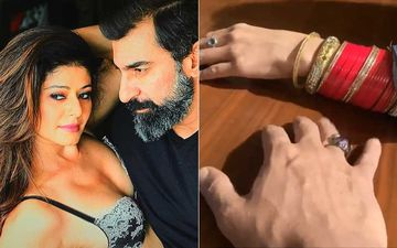 Newlywed Pooja Batra Flaunts Her Chooda After Secretly Marrying Boyfriend Nawab Shah In Srinagar