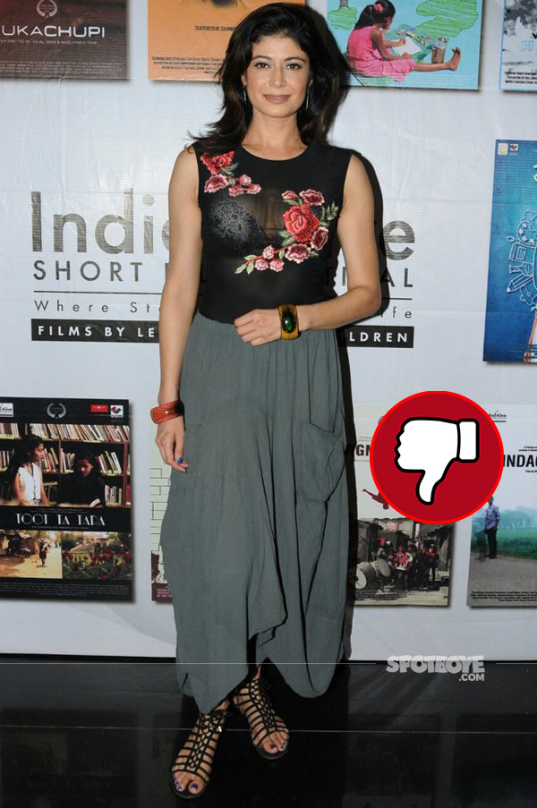 pooja batra at india alive short film festival launch ina  transparent outfit