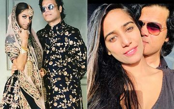 Newly Married Couple Poonam Pandey- Sam Bombay Leave For Their Honeymoon; Lady Spotted In Chooda, Mangalsutra And Sindoor