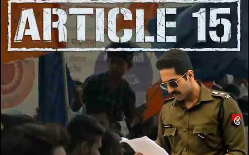 Article 15 Box-Office Collection, Day 2: Ayushmann Khurrana Starrer  Gallops; Surpasses Day 1 Collections