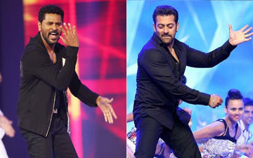 Salman Khan And Prabhu Deva Dancing To Urvashi Is Your Hump Day Treat – Video Not To Be Missed