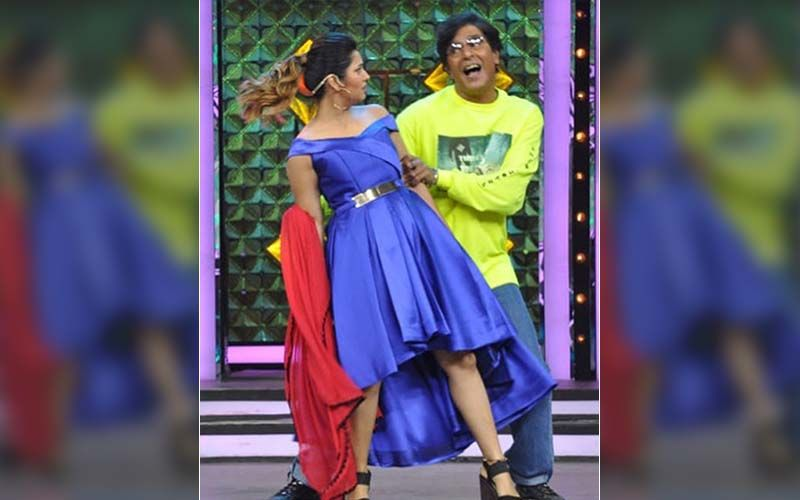 Prajakta Mali And Chunky Pandey Dance On 'Lal Dupattey Wali' Is A Throwback To The '90s