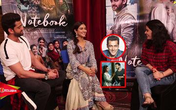 Pranutan Bahl-Zaheer Iqbal No-Holds-Barred On Salman Khan, Nepotism And Notebook
