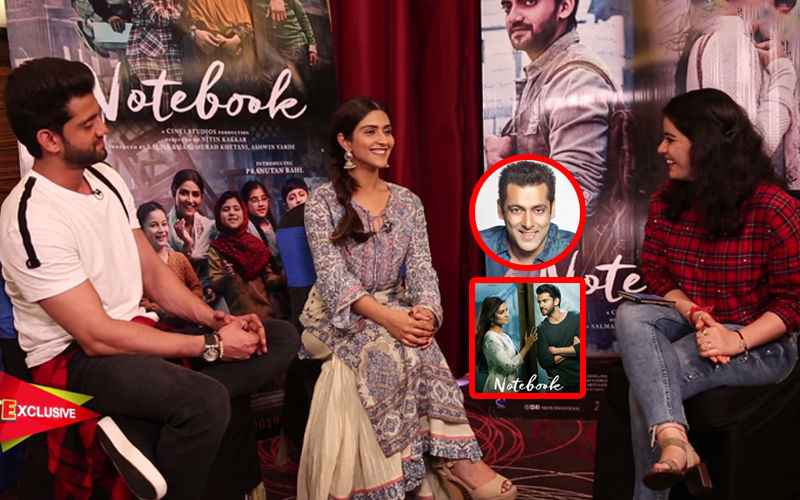 Pranutan Bahl-Zaheer Iqbal No-Holds-Barred On Salman Khan, Nepotism And Notebook