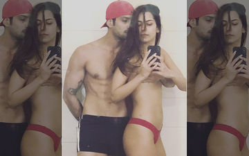 Prateik Babbar Deletes Semi-Nude Picture With Wife Sanya Sagar- Troll Effect!