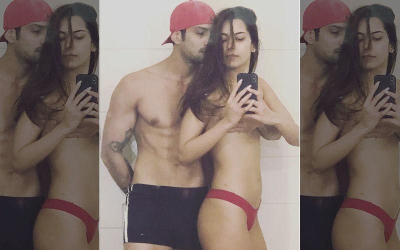 Prateik Babbar Deletes Semi-Nude Picture With Wife Sanya Sagar- Troll Effect!