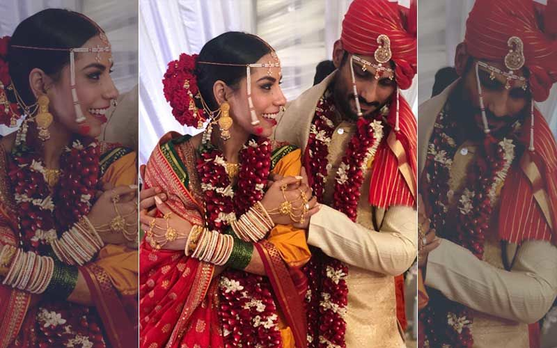 Prateik Babbar And Sanya Sagar Wedding Pictures: A Match Made In Heaven!